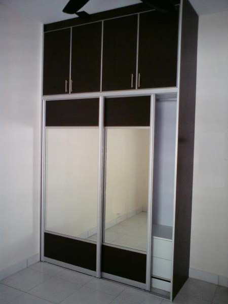 Wardrobe Design - Sliding Door Wardrobe with Mirror & Wardrobe Picture - Sliding Door Wardrobe